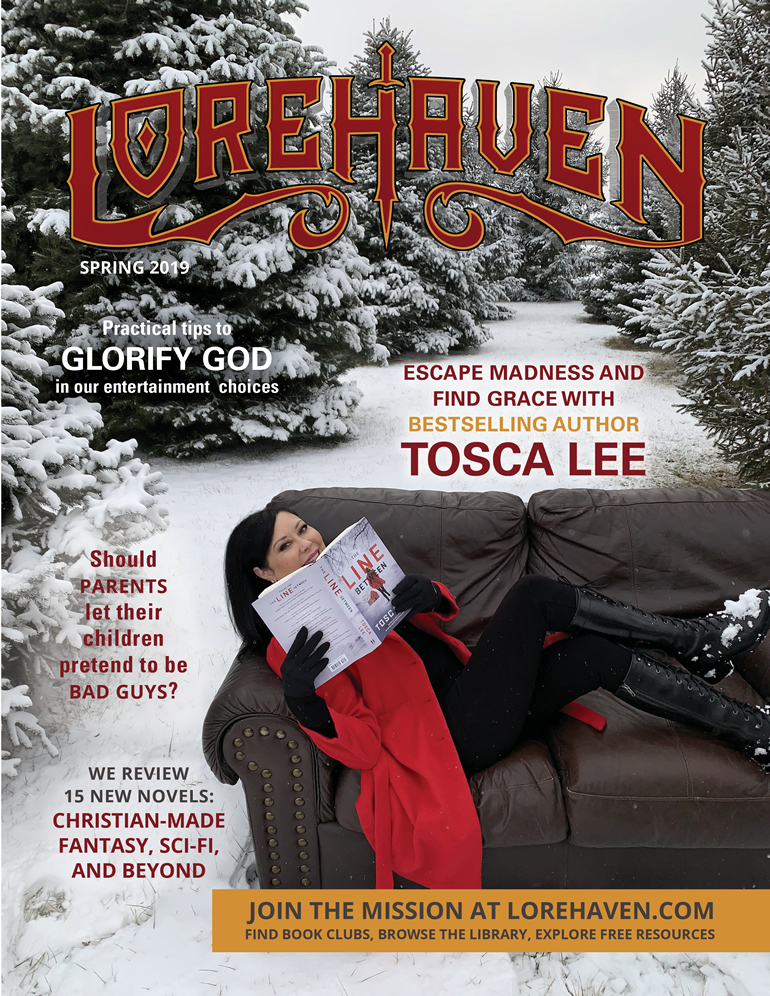 Lorehaven, spring 2019 issue