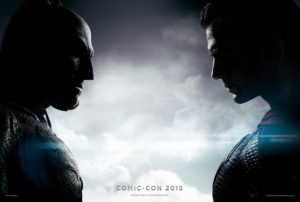 """Batman v Superman: Dawn of Justice"" San Diego Comic Con 2015 poster"