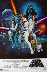 """Star Wars"" original poster"
