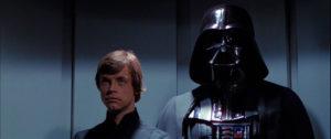 Star Wars Episode VI: Return of the Jedi, Luke Skywalker and Darth Vader