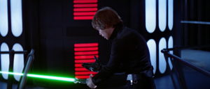 """Star Wars Episode VI: Return of the Jedi"": Luke rejects the Dark Side"