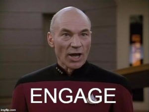 Capt. Picard - ENGAGE
