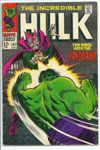 Hulk comic book cover