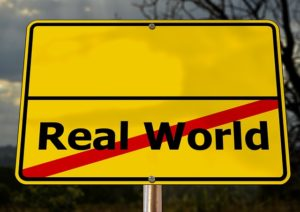 real world sign