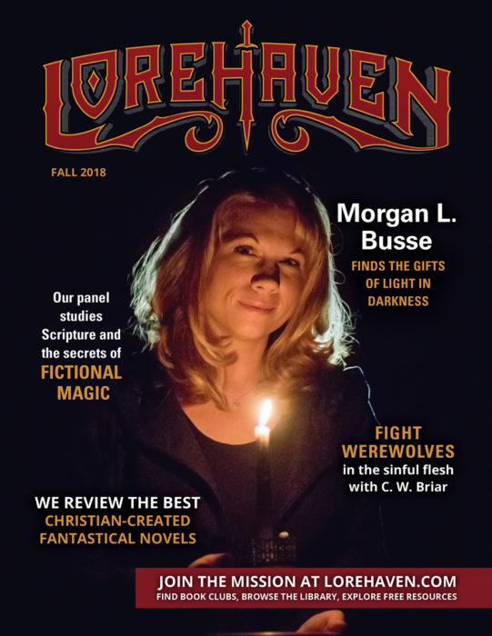 Lorehaven Magazine, fall 2018