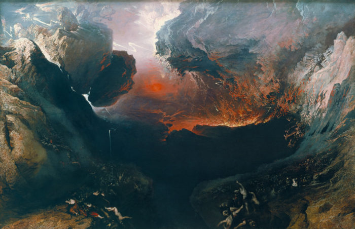 John Martin's 1851–1853 painting The Great Day of His Wrath reflects God's end-times judgment on the world. (Public domain)