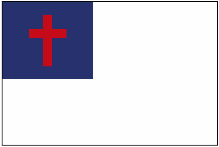 (Evangelical) Christian flag