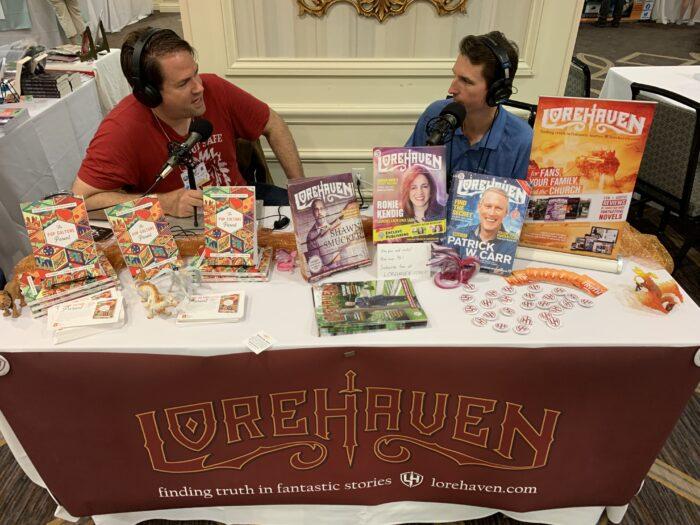 Lorehaven booth recording