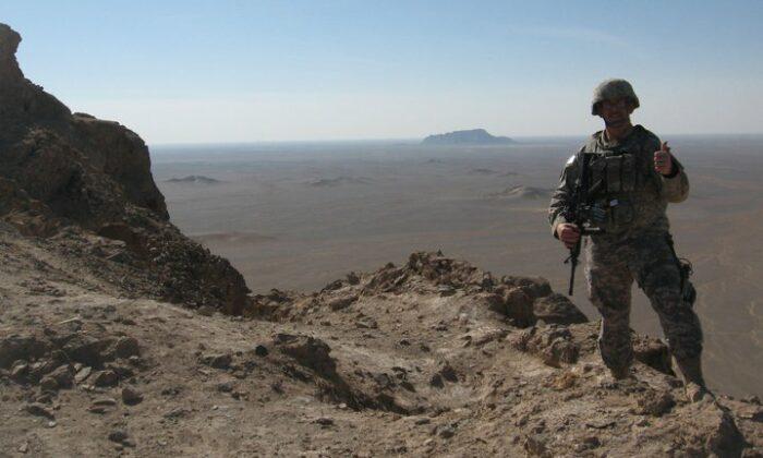 Travis Perry in Afghanistan (2011)